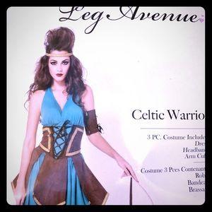 Celtic Warrior Costume Leg Avenue ML Amazon 3pc